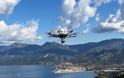 YellowScan's LiDAR Vx-20 Provides Micro-Relief of a Neolithic village in Corsica