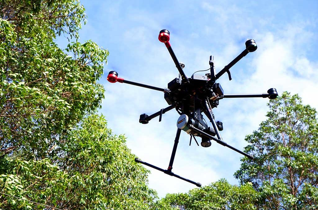 DJI Drones for LiDAR mapping