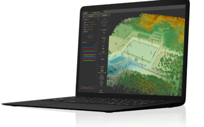 Terrain, the new module by YellowScan.