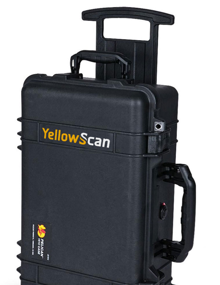YellowScan Surveyor Ultra sur DJI m300