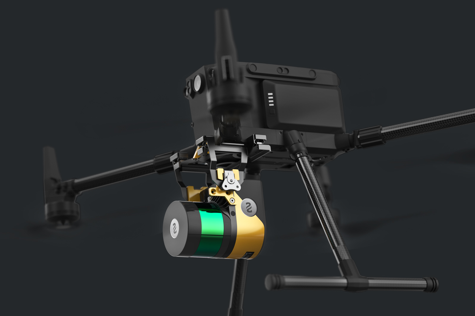 YellowScan Surveyor DJI m300にウルトラ