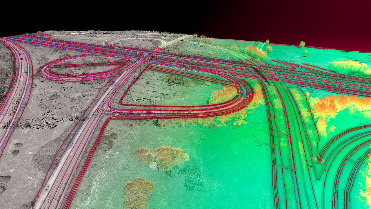 Surveying highway infrastructure in Hungary with UAV LiDAR