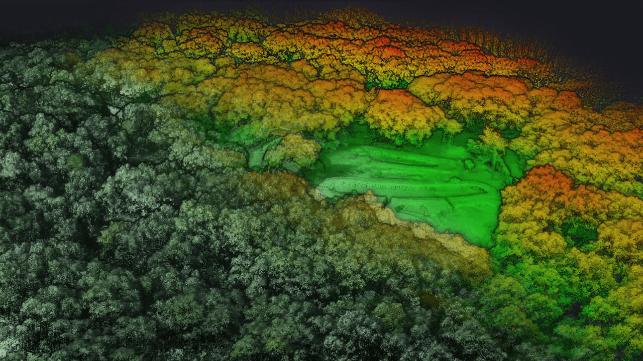 Using UAV LiDAR mapping for archeology