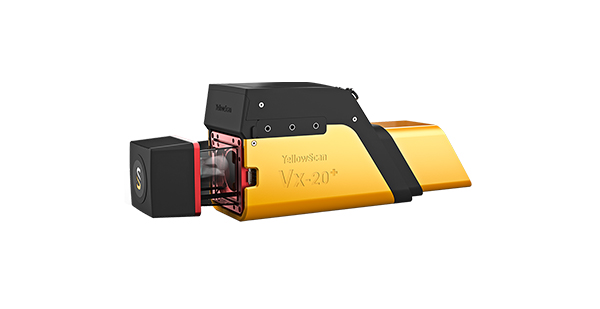 YellowScan Vx-20+ LiDAR mapping solution