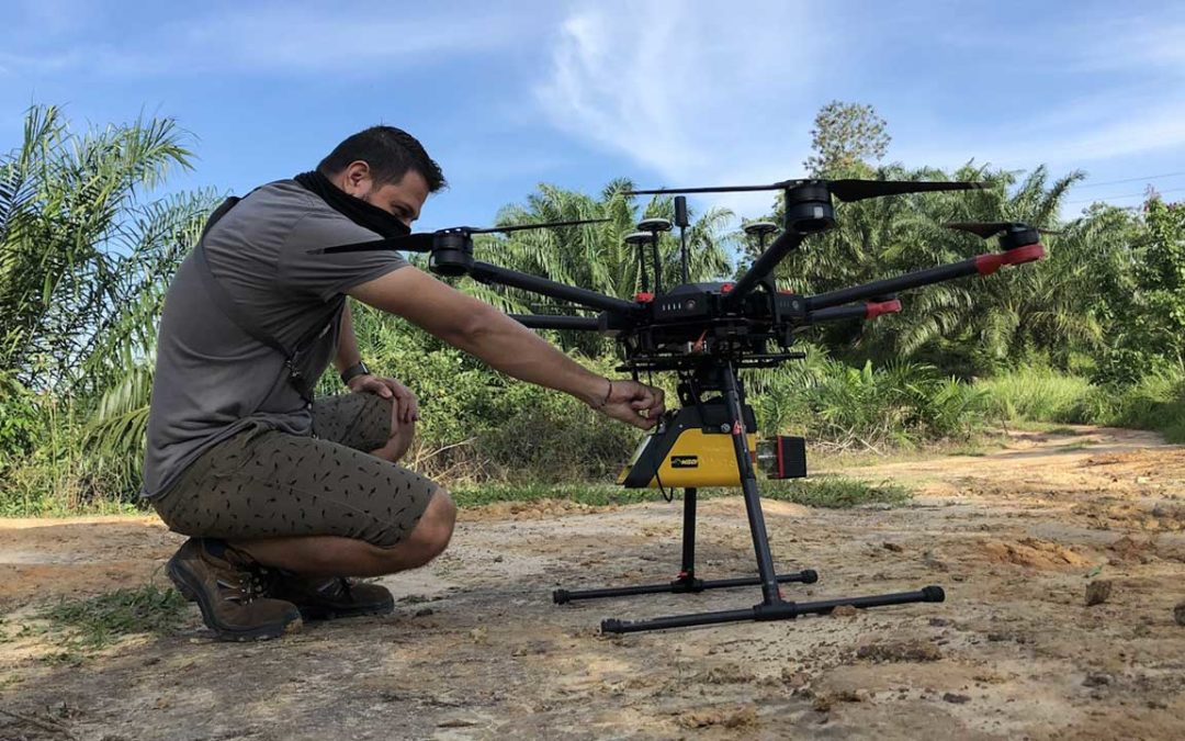 YellowScan Vx-15 Makes European Start-Up a Major Player in Indonesia