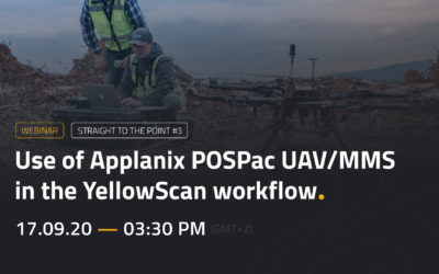 WEBINAR | Use of Applanix POSPac UAV/MMS in the YellowScan workflow