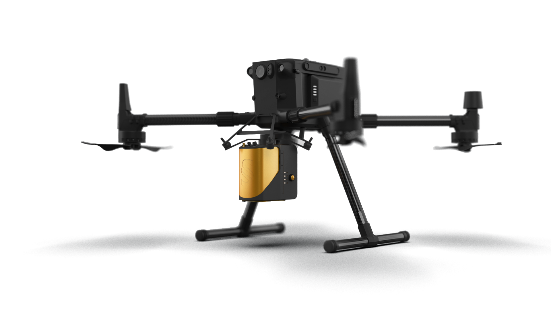YellowScan Mapper - UAV Livox LiDAR-based solution on DJI M300 with Skyport - LiDAR mapping