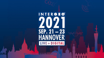 What happened at Intergeo 2021 in Hannover